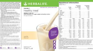 Nutritional Shake Free from Gluten, Soy and Lactose