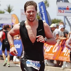 Donavan Will - Ironman Jan 2016 Vegan Diet using Herbalife24 supplements