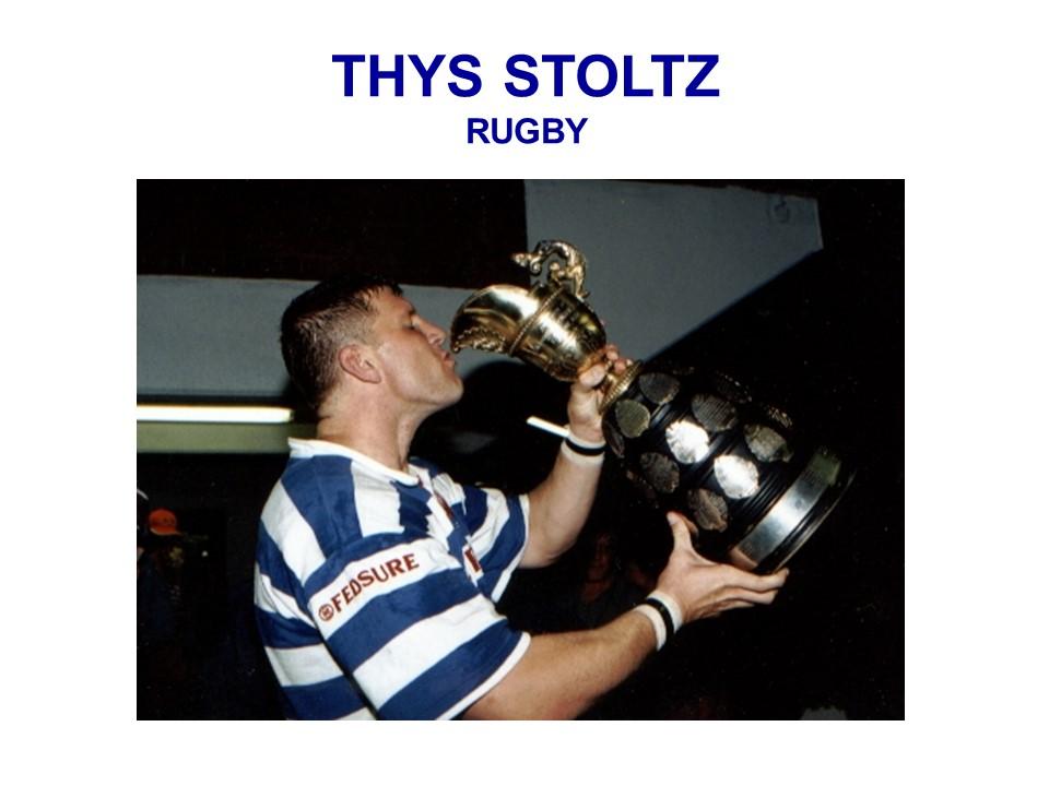 THYS STOLTZ - Rugby