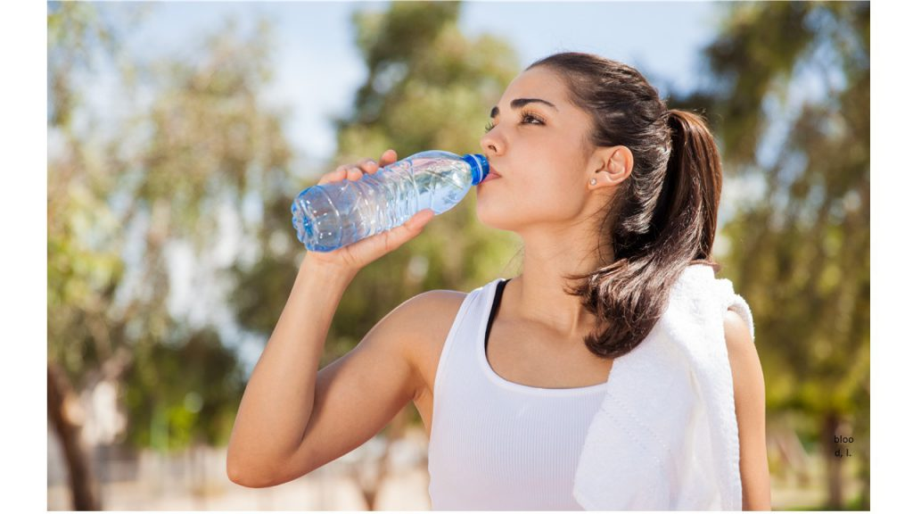 water for athlete