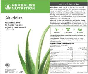 Label Aloe Max
