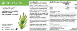 RoseGuard Label